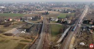 Relacja z modernizacji linii kolejowej od Czechowic do Zabrzega
