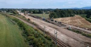 [WIDEO] Wrzesień na przebudowie czechowickiego węzła kolejowego
