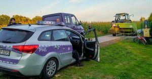 [FOTO, WIDEO] Pijacka szarża traktorzysty z 3-latkiem na kolanach!