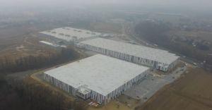 Wideo-dnia: Nowe hale przy DK-1 w Czechowicach Górnych