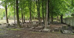 Zwiedzanie czechowickiego cmentarza żydowskiego