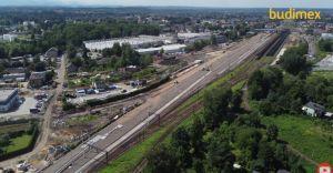 [WIDEO] Sierpień na przebudowie czechowickiego węzła kolejowego