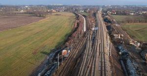 [WIDEO] Koniec roku na przebudowie węzła kolejowego