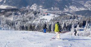 Warunki narciarskie w Szczyrku coraz lepsze - dzisiaj pada śnieg!