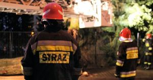 Silny wiatr: 10 interwencji strażaków w gminie Czechowice