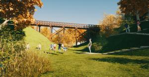 [FOTO] Park Szwajcarska Dolina powstanie do końca października