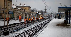 [ZDJĘCIA] Rozpoczęła się przebudowa stacji Czechowice-Dziedzice