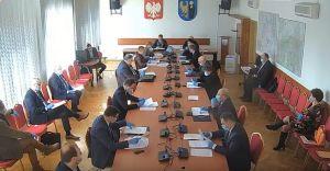 Sesja czechowickiej Rady Miejskiej w czasach epidemii