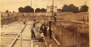 [Historyczne zdjęcie] Budowa SP7 w latach trzydziestych XX wieku