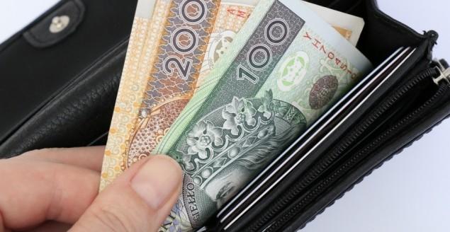 pieniądze, portfel, kasa