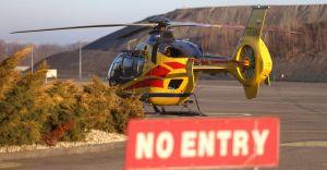 Problemy załogi LPR z przekazaniem do szpitala 82-letniej czechowiczanki