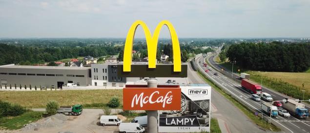 Sieć McDonald's otworzyła swój lokal przy ul. Mazańcowickiej