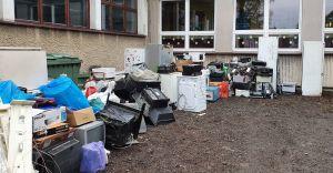 [FOTO] Udana zbiórka elektrośmieci w Szkole Podstawowej nr 8