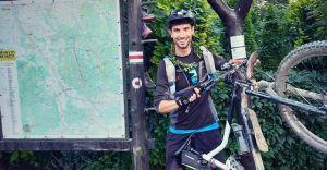 Szymon Żoczek wykonał zadanie i pokonał 517 kilometrów na rowerze
