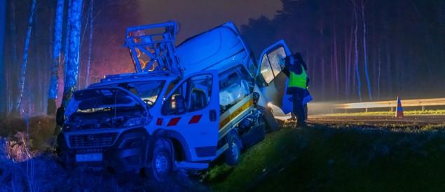 Śmiertelny wypadek na DK-1 w Kobiórze - 23.11.2020