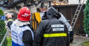 Wybuch gazu w Kobiernicach: Jedna osoba nie żyje, 5 rannych