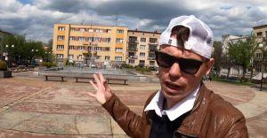 """""""Europejska prostota"""". YouTuber z Ukrainy odwiedził Czechowice"""