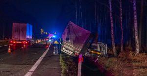 [FOTO] Tragiczny wypadek na DK-1. Nie żyje 54-letni czechowiczanin