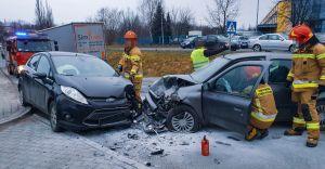 [FOTO] Kompletnie pijany kierowca doprowadził do czołowego zderzenia
