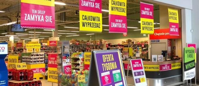 Tesco znika z CH Stara Kablownia. Wkrótce sklep pod nowym szyldem