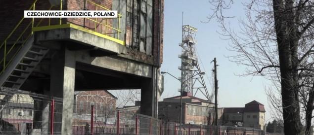 Kopalnia Silesia w materiale kanału France24 o Śląsku bez węgla