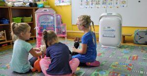 Oczyszczacze powietrza dla trzech gminnych przedszkoli