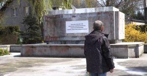 Co czechowiczanie sądzą o demontażu pomnika?