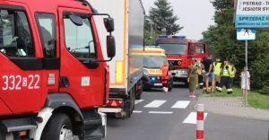 [FOTO] 17-latka jadąca na hulajnodze potrącona przez ciężarówkę