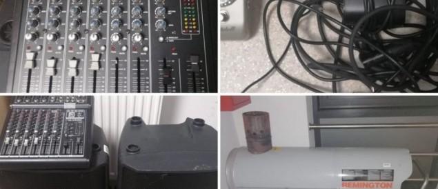 """Sprawcy kradzieży sprzętu zespołowi """"Audio Cases"""" zatrzymani"""