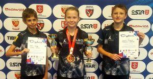 3 medale Mistrzostw Polski w tenisie stołowym dla czechowickiego MKS!