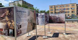[FOTO] 50 lat od wielkiego pożaru rafinerii - wystawa na placu JP II