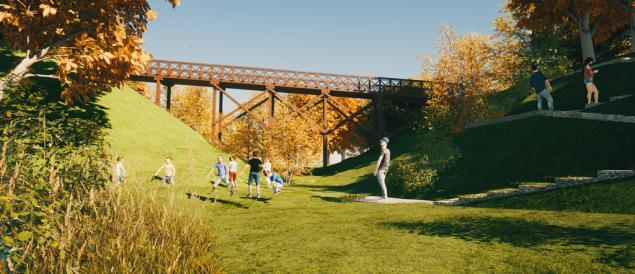 Wizualizacje Parku Szwajcarska Dolina