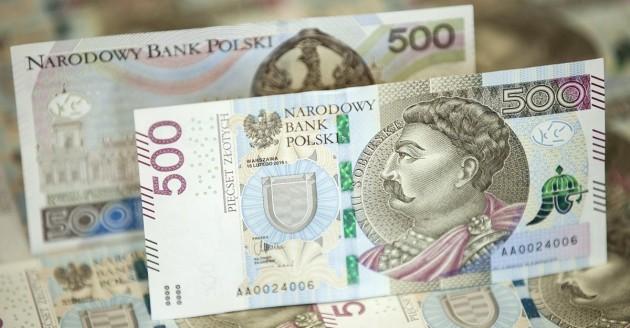nbp, pieniądze, 500