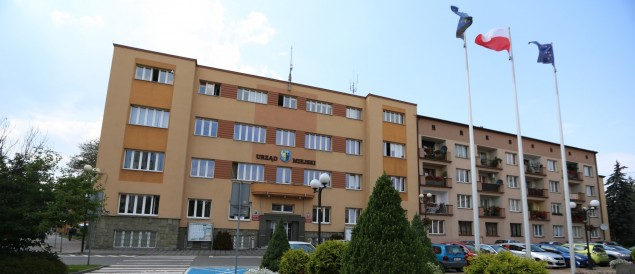Urząd Miejski, ratusz, Czechowice-Dziedzice