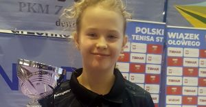 Emilia Twardawa z brązowym medalem Grand Prix Polski w tenisie stołowym!