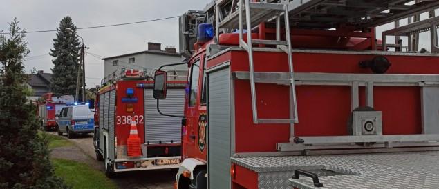Tragiczny pożar przy ul. Traugutta. Nie żyje jedna osoba