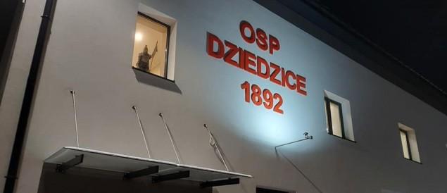 Zakończył się kompleksowy remont remizy OSP Dziedzice - 07.05.2021