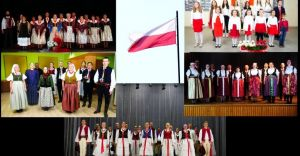 [WIDEO] Sześć zespołów zaśpiewało hymn z okazji Święta Niepodległości