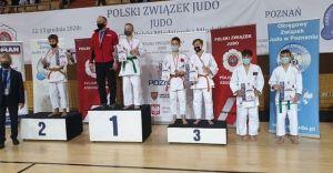 Oskar Tyl tuż za podium Mistrzostw Polski Młodzików w judo